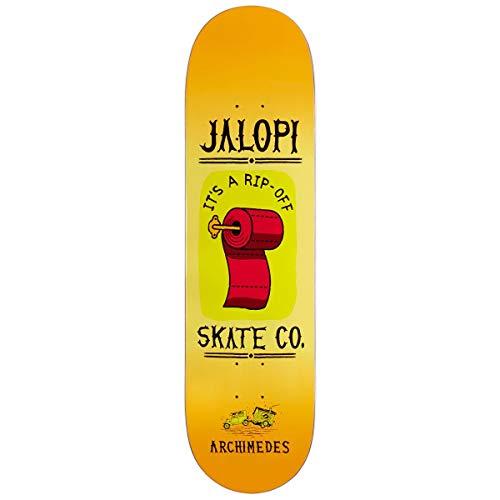 (Anti-Hero Archimedes Jalopi Skate Co Skateboard Deck - 8.40