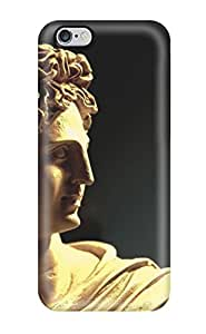 Durable Case For The Iphone 6 Plus- Eco-friendly Retail Packaging(statue)(3D PC Soft Case)