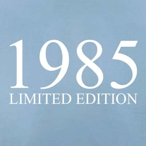 1985 Limierte Auflage / Limited Edition - 32. Geburtstag - Herren T-Shirt - Himmelblau - S
