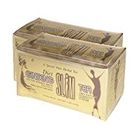 Diet Ginseng Slim Tea for Weight Loss, Extra Strength, 3g X 18bags (1.90 Oz) (Pack...