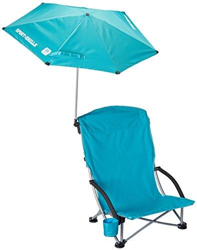 Sport-Brella Beach Chair, Aqua