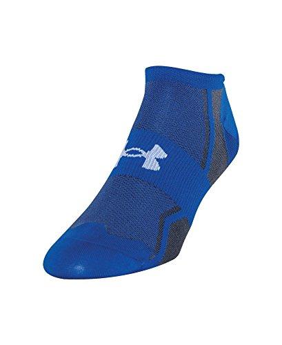 Under Armour Men's Speedform Ultra Low Tab Socks (1 Pair), Scatter Blue, Large