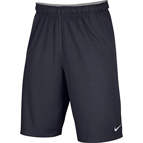 NIKE Men's Team Fly Shorts (Graphite, Large)