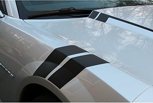 Reflective Concepts 2010-2015 Camaro Hash Mark Decal Stripes - (Color: Gloss Black)