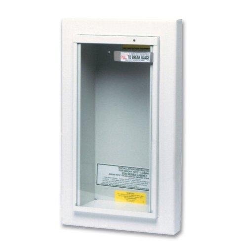 Kidde - Extinguisher Cabinets 5Lb Semi-Recessed Cabinet: 408-468044 - 5lb semi-recessed cabinet by Kidde