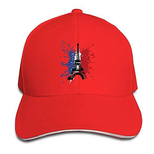 - Unisex France Flag Trucker Cap Adjustable Peaked Sandwich Cap