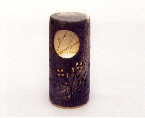 ギフト包装承ります 初月燈 HATSUZUKI NO AKARI (屋外用) 【信楽焼 陶照明・灯り】 / お楽しみグッズ(キッチン用品)付きセット