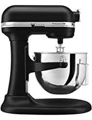 KitchenAid Professional 5 Plus Series Stand Mixers - Black Matte (Certified Refurbished)