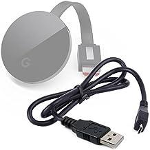 Micro USB Data Sync Lead For Google Chromecast Ultra, Chromecast 2 and Chromecast - Chromecast Not Included - by DURAGADGET