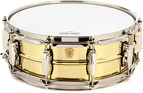 (Ludwig Super Brass Snare Drum - 5 Inches X 14 Inches)