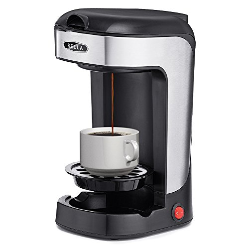 Bella BLA14436 One Scoop One Cup Coffee Maker, Black and Stainless Steel by BELLA (Image #3)