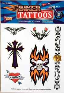Biker Tattoos - Kit #1 Accessory by Forum Novelties