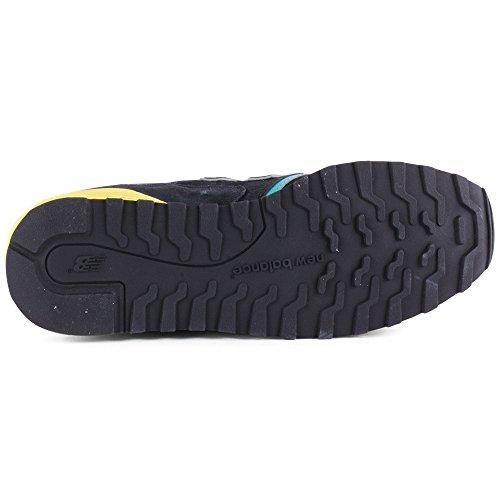 New Balance Men's Sneaker Grey U446SMGP Black Green