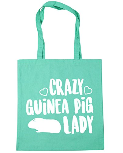 lady litres Bag Beach Shopping HippoWarehouse Tote pig Crazy Mint Gym 42cm guinea 10 x38cm q7awU6t