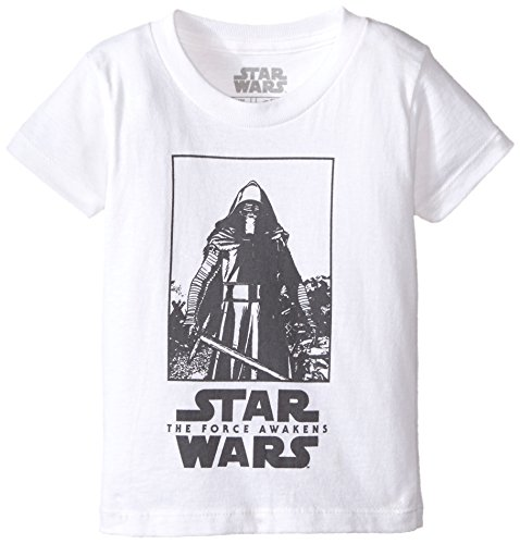 Star Wars Big Boys' T-Shirt, Fresh White, Medium/10-12