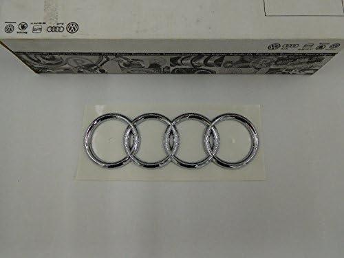 Genuine Audi Rings Rear Boot Badge Emblem Chrome Nos 441853742 2ZZ