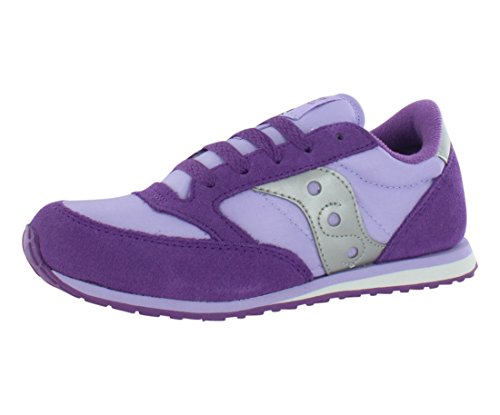 Saucony Jazz Low Pro Sneaker ,Purple/Violet,3 M US Little Ki