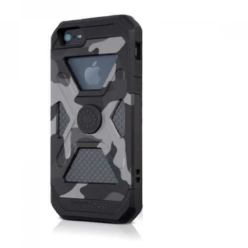 Rokform Fuzion Aluminum Case for iPhone SE/5/5s with Universal Magnetic Car Mount and Patented Twist Lock, Camo by Rokform