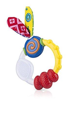 Nuby Wacky Teething Ring Pack