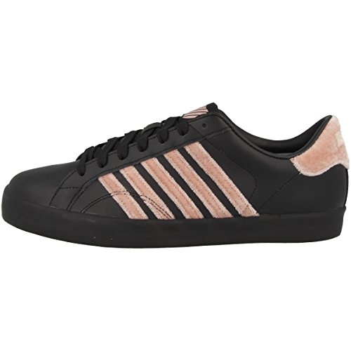 K-Swiss Weiblich Belmont SO Women Schuhe Black-dusty Pink-gum (93324-011)