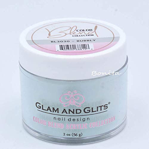 Glam And Glits Acrylic Powder Color Blend Collection BL3030 Bubbly 2 -