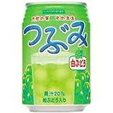 サンガリア つぶみ 白ぶどう 280ml缶×24本[1CS]