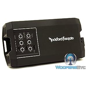 Rockford Fosgate T400X4ad Power Series 400 Watt 4-Channel Amplifier