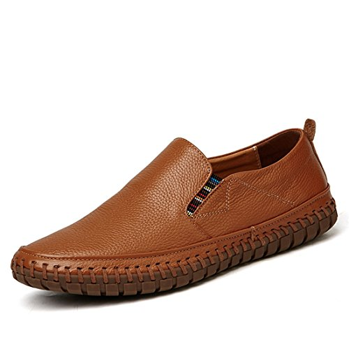 Mens Classic Casual Loafers - Driving Moccasins Soft Slip On Shoes BZ998 Brown 81Y28pTm