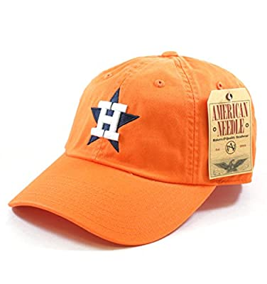 Houston Astros Washed Cotton Twill Baseball Cap by American Needle