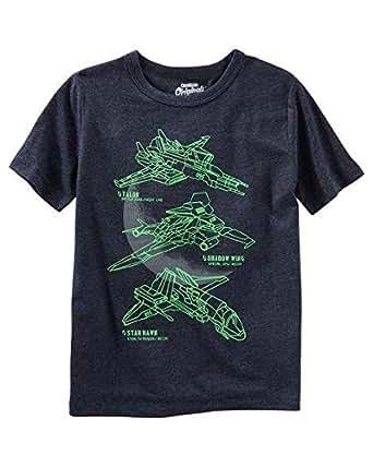 OshKosh B'gosh Dark Navy Round Neck T-Shirt For Boys