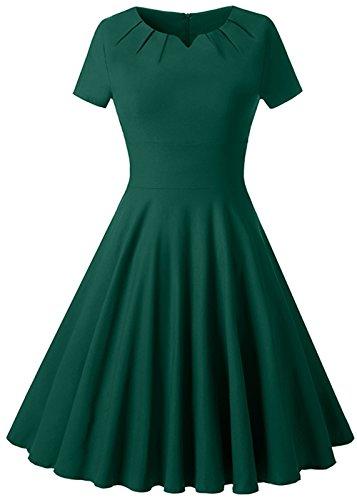 80s Polka Dot Dress - 7