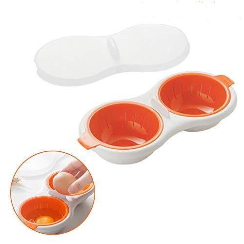 Perfect Poach - Microwavable Double Egg Poacher, Egg Maker C