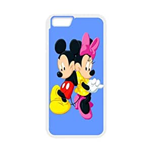 Mickey and Minnie iPhone 6 Plus 5.5 Inch Cell Phone Case White MS4606685
