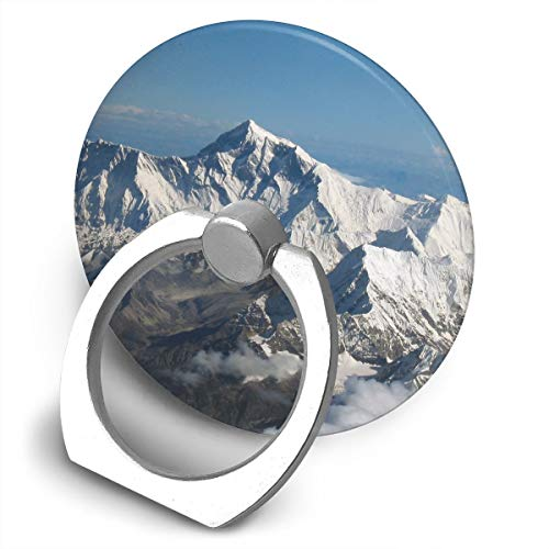 Cooby Roman Circular Cell Phone Stand Beautiful Mountains Natural Landscape Finger Ring Stand Holder - Finger Grip Kickstand 360¡« Rotation for iPhone and More Smartphones