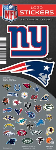 Nfl Stickers (NFL LOGO Stickers (FULL SET 32 COUNT))