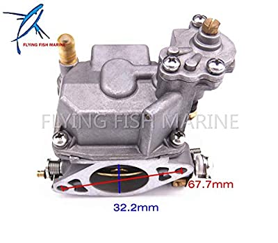 Boat Parts & Accessories Boat Motor 66M-14301-12-00 Carburetor Assy for Yamaha 4-Stroke 15Hp F15 Electric Start Outboard Engine by Yoton