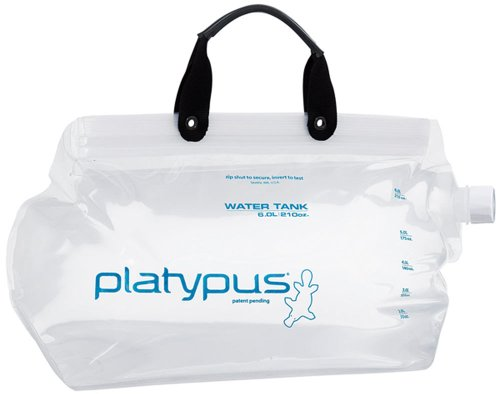 Platypus Water Tank, 6 Liter, Outdoor Stuffs