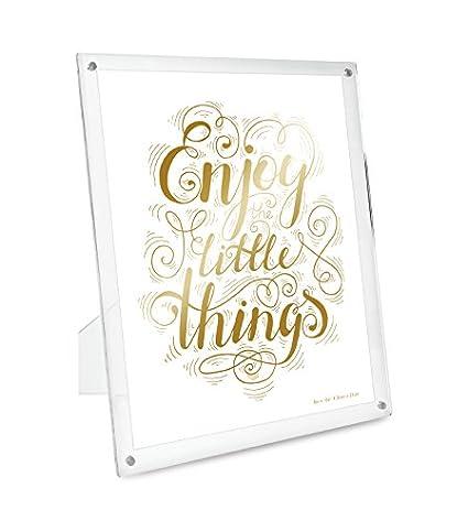 Amazon.com - Isaac Jacobs Plain Acrylic Magnetic Frame (8x10) -