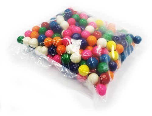 Dubble Bubble One Inch Gumballs Assorted Flavors 5 Pound Box by FIRST CLASS VENDING [Foods]
