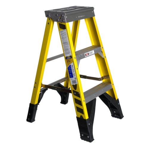 Werner 7310 375-Pound Duty Rating Type IAA Fiberglass Stepladder, 10-Foot