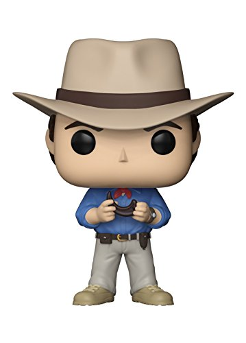 Funko Pop! Movies: Jurassic Park - Dr. Alan Grant Collectible Figure -