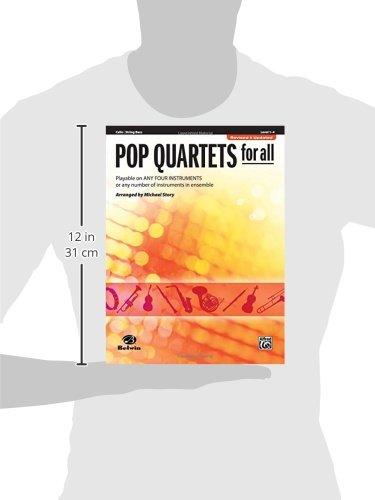Pop Quartets for All: Cello/Bass (Instrumental Ensembles for All)