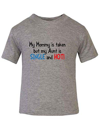 Mommy Taken Aunt Single T shirt product image