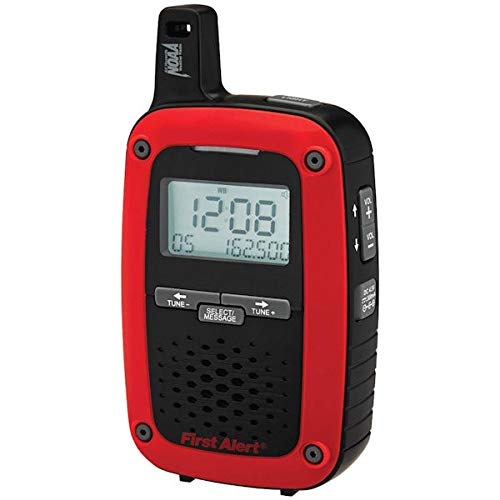 First Alert SFA1135 Portable AM/FM Digital Weather Radio with S.A.M.E. Weather Alert