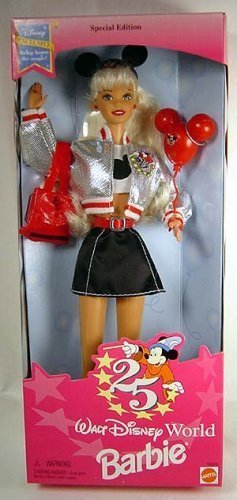 Disney Barbie - Walt Disney World 25th Anniverary Doll