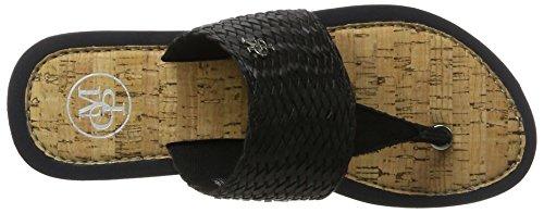 Marc O'Polo 70314031004607 Beach Sandal, Women's Open Toe Sandals Schwarz (Black)