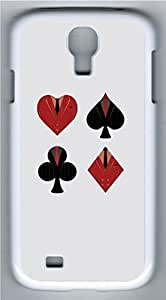 Samsung Galaxy S4 Case Customized Unique Playing Card Cover For Samsung Galaxy S4 I9500 by supermalls