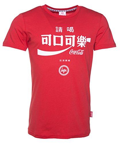 Coca Cola Taiwan Logo Herren T Shirt Rot von Hype