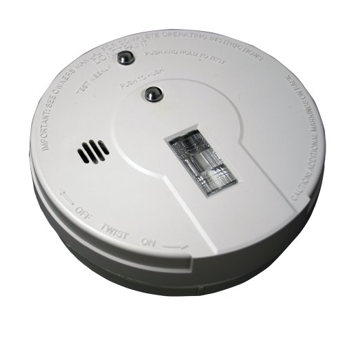 Kidde i9080 Battery Operated Smoke Alarm with Safety Light