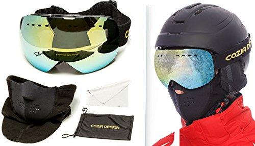 how to clean foggy ski goggles